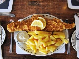 England – 'Fish & Brits'